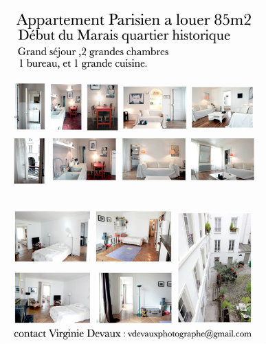 Appartement Paris - 6 personnes - location vacances  n°25529