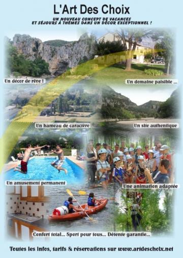 Gite 8 personnes Vallon Pont D'arc - location vacances  n°25787