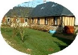 Casa rural en Pont audemer para  9 •   con terraza