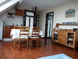 Appartement Veules Les Roses - 6 personnes - location vacances  n°25376