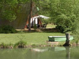 Sarlat -    vue sur lac