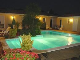 Chambre d'hôtes à La teste de buch pour  4 •   avec piscine partagée   n°25673