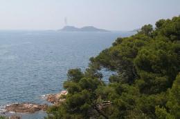 Ramatuelle -    uitzicht op zee