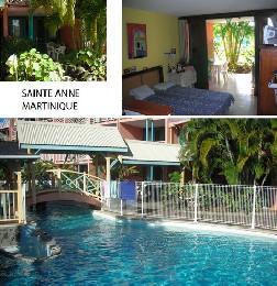 Studio Martinique - 3 personnes - location vacances  n°25937