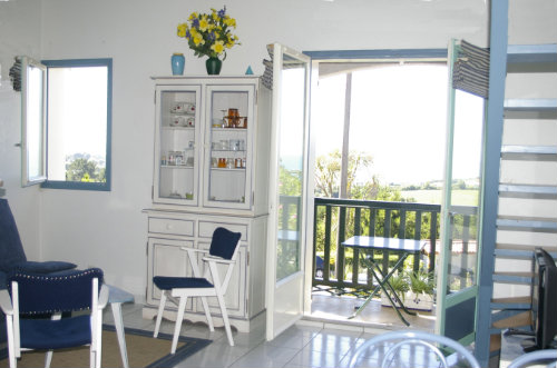 Flat in Saint jean de luz for   4 •   view on sea