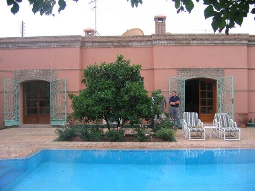 Maison à Marrakach pour  6 •   animaux acceptés (chien, chat...)