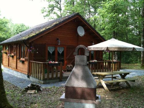 Chalet Hotton ( Biron) - 6 personnes - location vacances  n°26475