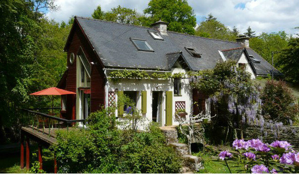 Gite à Rochefort en terre pour  4 •   avec terrasse