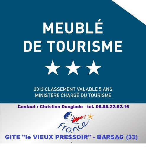Gite Barsac - 8 personnes - location vacances  n°26773
