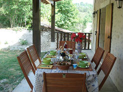 Bed and Breakfast in Celles - Vacation, holiday rental ad # 26946 Picture #1
