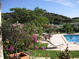 Bed and Breakfast 2 people Roquebrun - holiday home  #26003