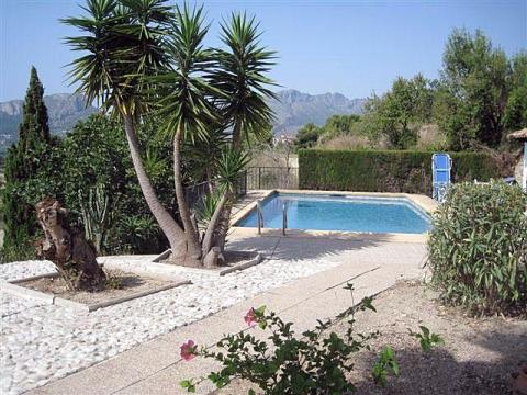 Farm 7 people Benissa - holiday home  #27047
