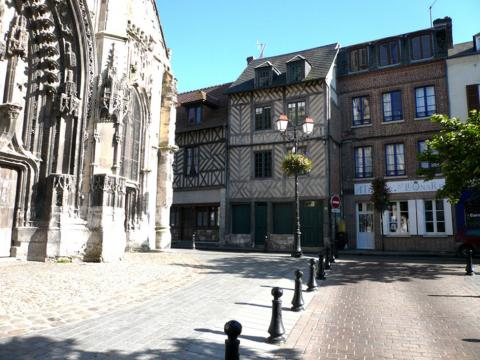House in Honfleur - Vacation, holiday rental ad # 27513 Picture #0
