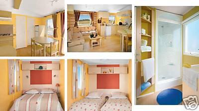 Mobil-home Gaste - 6 personnes - location vacances  n°27522