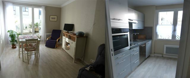 Flat Granville - 4 people - holiday home  #27537