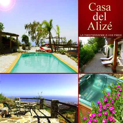 House in Sayalonga for   5 •   with private pool