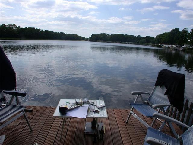 Hengelo -    Aussicht auf See