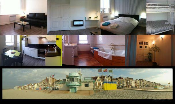 Maison Malo Les Bains (dunkerque) - 4 personnes - location vacances  n°27937