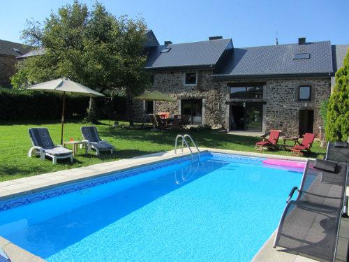 Gite in Erezée (mormont) voor  10 •   met privé zwembad