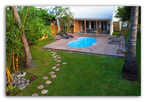 Maison à La saline les bains pour  6 •   prestations luxueuses   n°28144