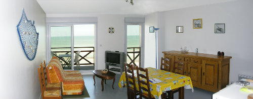 Flat in Cayeux sur mer for   2 •   private parking