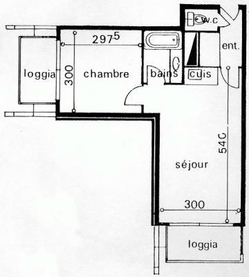 Appartement Le Corbier - 6 personnes - location vacances  n°29019