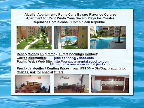 Appartement Bavaro - 4 personnes - location vacances  n°29054