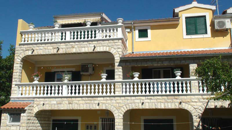 Flat Vodice - 4 people - holiday home  #29226