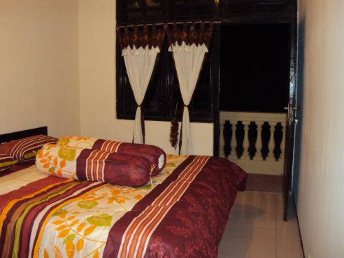 Maison à Yogyakarta pour  2 •   avec balcon