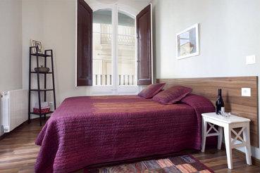 Apartamento en Barcelona para  5 •   con balcón