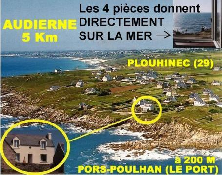 Maison Plouhinec - 4 personnes - location vacances  n°29325