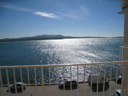 Flat in Sanary sur mer for   4 •   view on sea