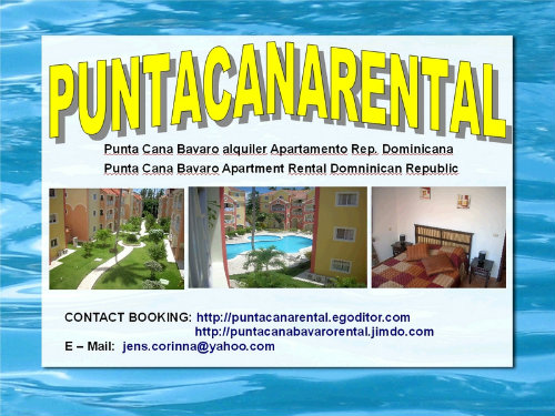 Appartement Punta Cana - 4 personnes - location vacances  n°29628