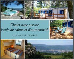 Chalet Mazamet - 6 personnes - location vacances  n°29519