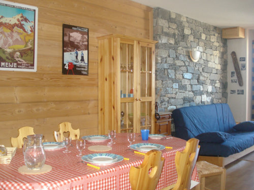Chalet Valmeinier 1800 - 6 people - holiday home  #30471