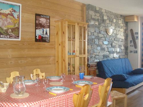 Casa de montaña Valmeinier 1800 - 6 personas - alquiler n°30471