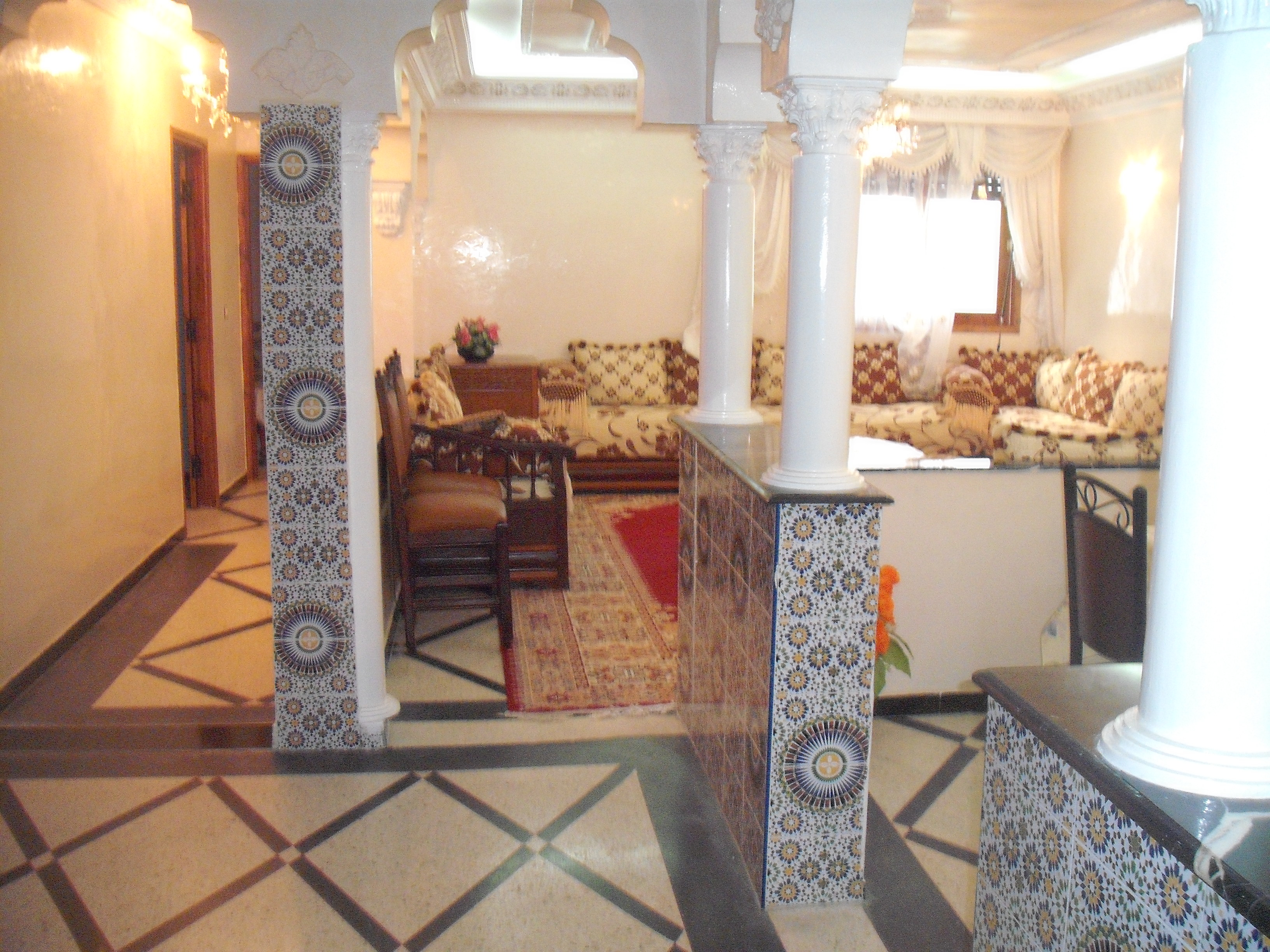 Appartement in Casablanca für  8 •   mit Balkon