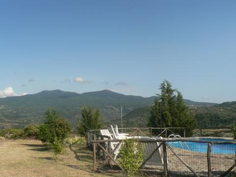 Farm in Castel del piano for   11 •   animals accepted (dog, pet...)