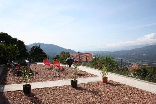Appartement à Sartène golfe valinco pour  9 •   vue sur mer