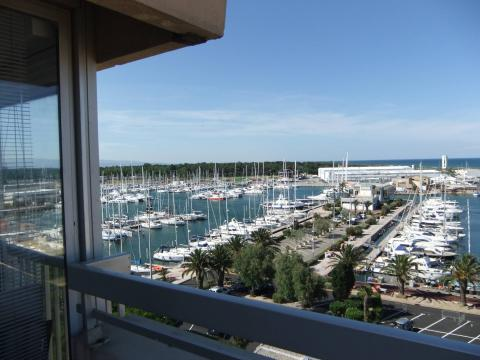 Flat in Canet en roussillon - Vacation, holiday rental ad # 31635 Picture #0