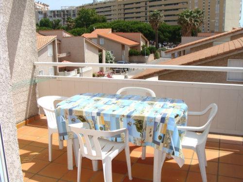 Appartement Saint-cyprien Plage - 4 personnes - location vacances  n�31650