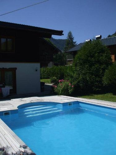 Chalet à Wald im pinzgau pour  10 •   avec piscine privée