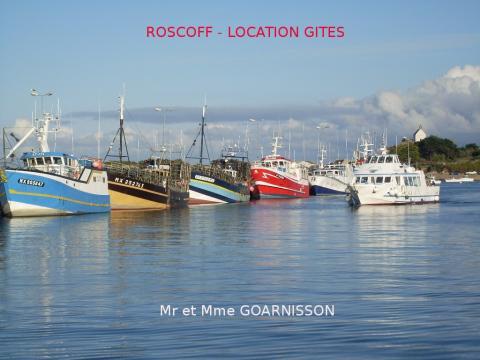 Roscoff -    vue sur mer