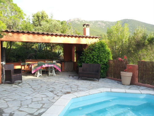 House in Ajaccio for   8 •   with private pool