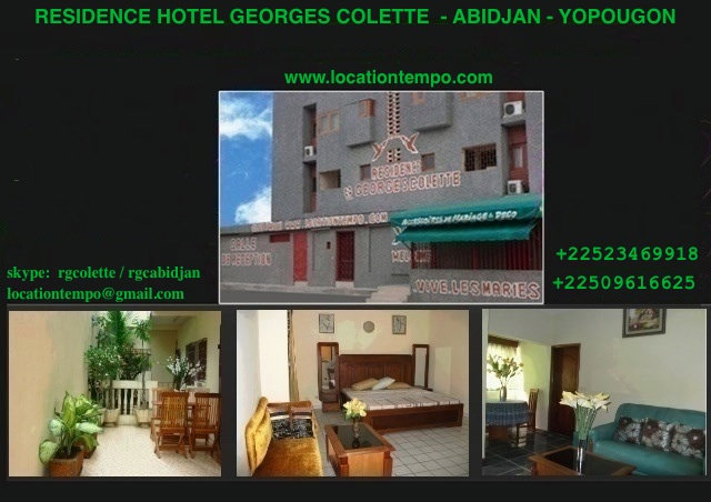 Appartement Abidjan - 3 personnes - location vacances  n°32105