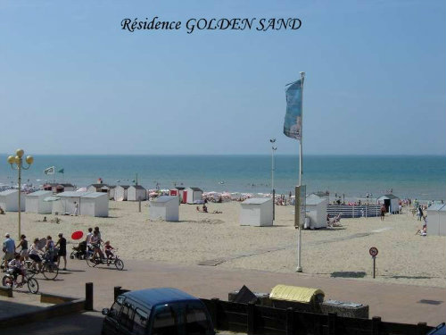 Flat 4 people La Panne - holiday home  #32269