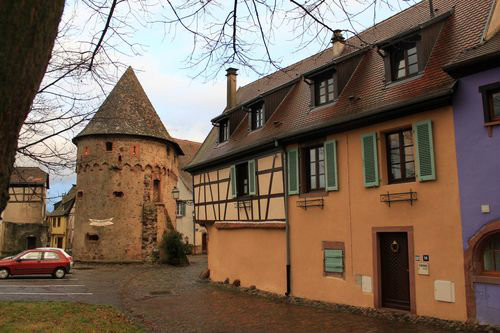 Gite à Ammerschwihr 68770 pour  5 •   avec terrasse