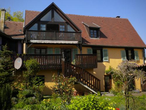 Gite à Ammerschwihr 68770 pour  5 •   jardin