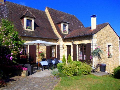 Chambre d'hôtes 5 personnes Grolejac Near Sarlat - location vacances  n°32457