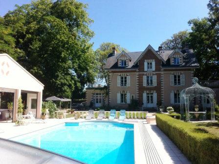 Château Cormeray - 15 personnes - location vacances  n°32511